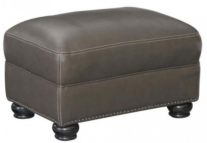 Charleston Longhorn Ghost Ottoman