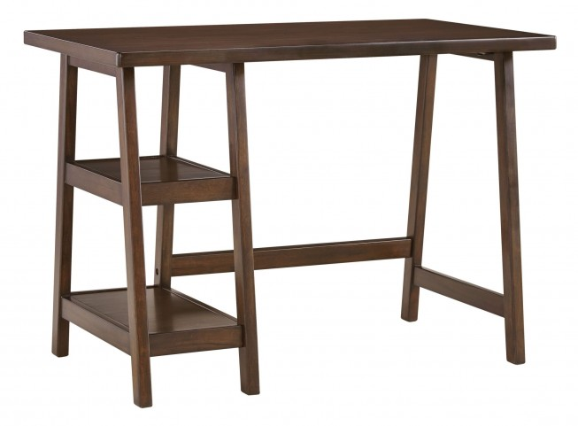 Lewis Medium Brown Home Office Small Desk