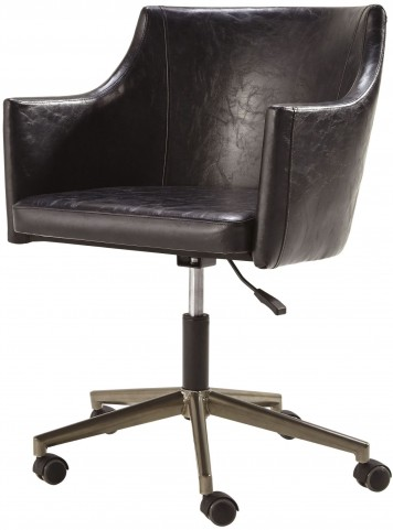 Tremile Brown Home Office Desk Chair