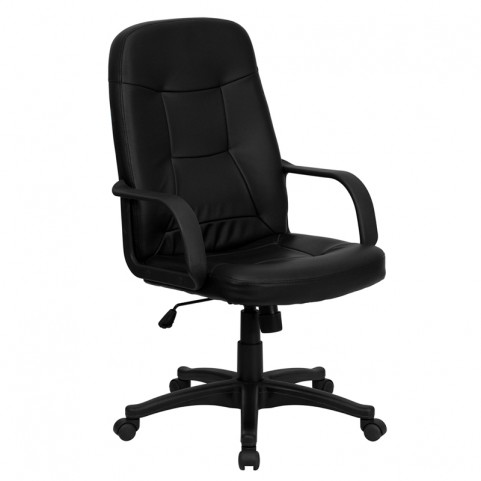 High Back Black Glove Executive Office Chair