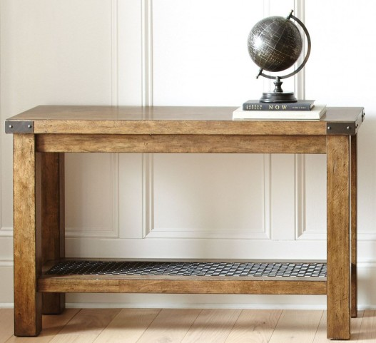 Hailee Industrial Sofa Table