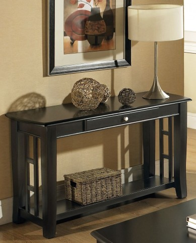 Cassidy Ebony Sofa Table