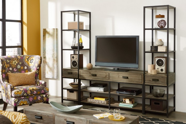 Parsons Sandalwood Entertainment Wall