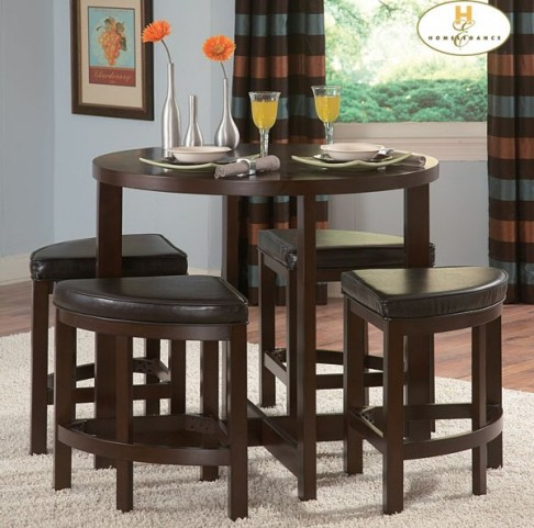 Brussel II Counter Height Dinette Set