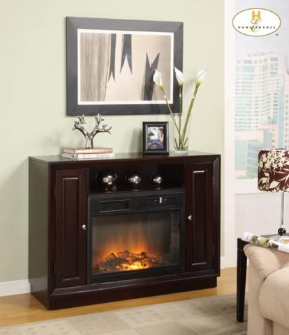 Aruba TV Stand with Electric Fireplace