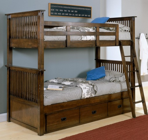 Santee Twin Over Twin Bunk Bed
