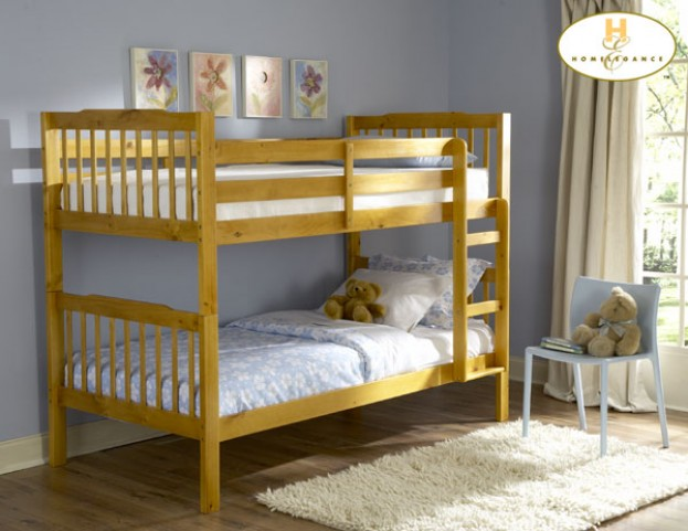Todd Pine Twin Over Twin Bunk Bed