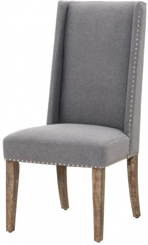 Traditions Heather Gray Wash Morgan Dining Chair Set of 2