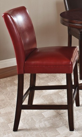 Hartford Red Counter Chair Set of 2
