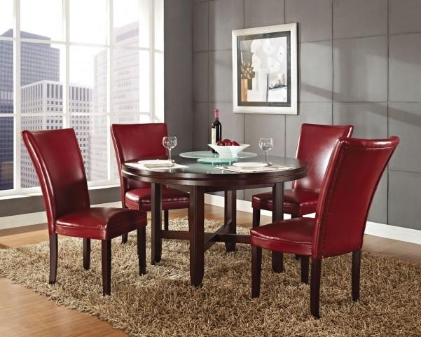 "Hartford Dark Oak 52""Round Dining Room Set"
