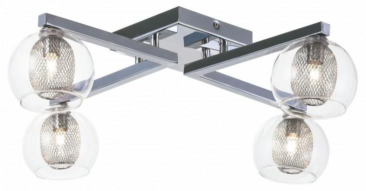 Estelle 4 Glass Metal Ceiling Light