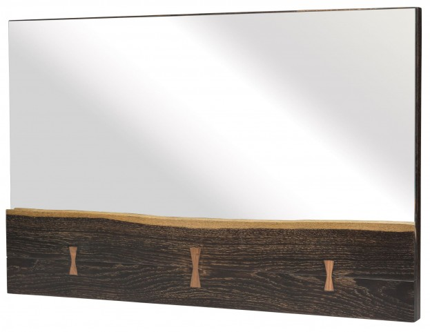 Nexa Seared Wood Wall Mirror