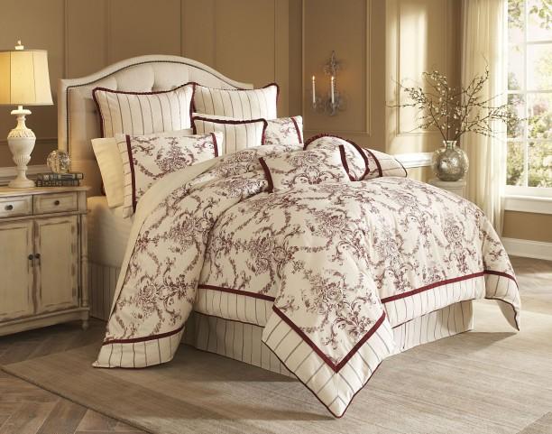 Hidden Glen Natural 9 piece Queen Comforter Set