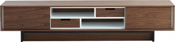 Holly Light Walnut 2 Drawer TV Stand