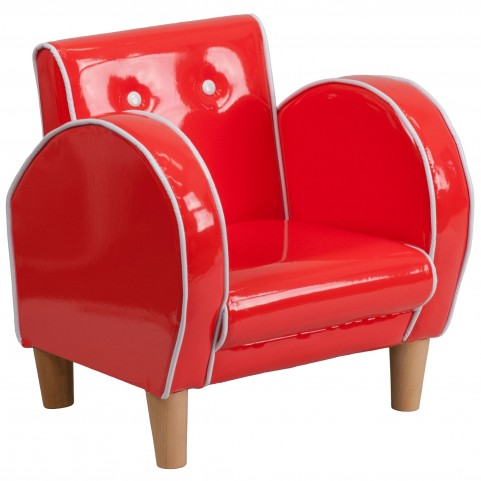 Kid Red Chair