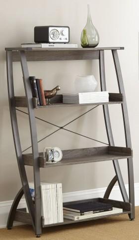 Hatfield Driftwood Grey Bookshelf