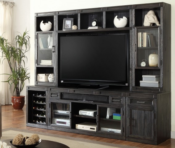Hudson Vintage Midnight Entertainment Wall Unit