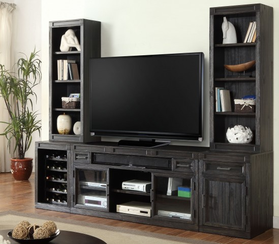 Hudson Vintage Midnight Stereo Wall Unit