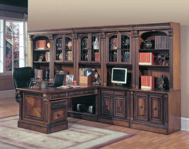Huntington Large Home Office Wall