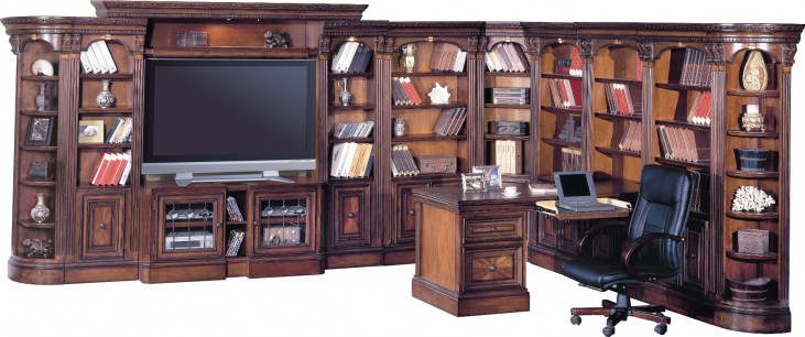 Huntington Large L Shape Entertainment Wall Unit