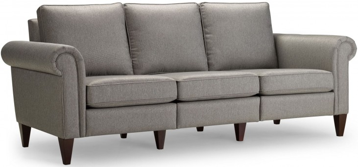 Avery Nickel Sofa