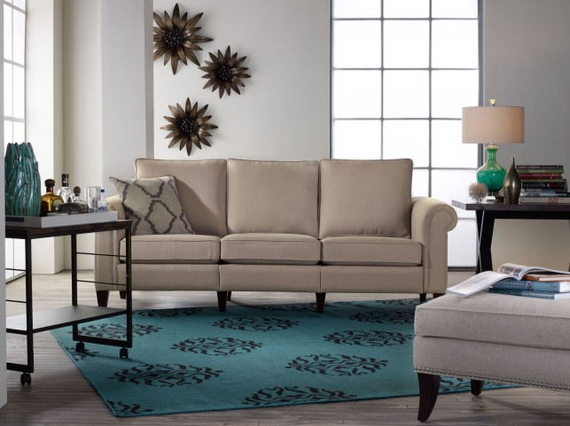 Avery Bisque Living Room Set