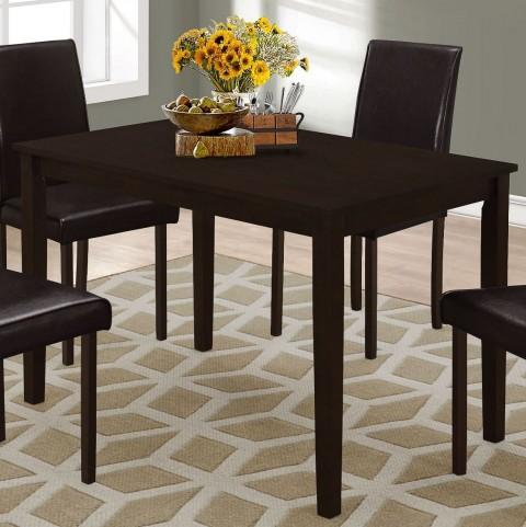 "Cappuccino 48"" Rectangular Dining Table"