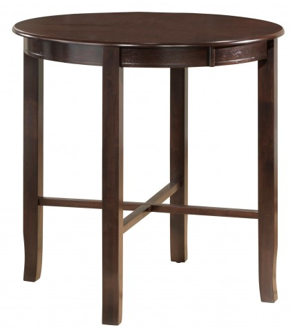 1281 Cappuccino Ash Bar Height Dining Table