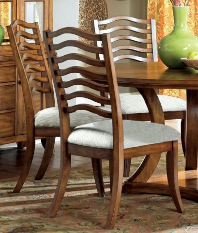 "Golden Oak 41"" Dining Chair Set of 2"