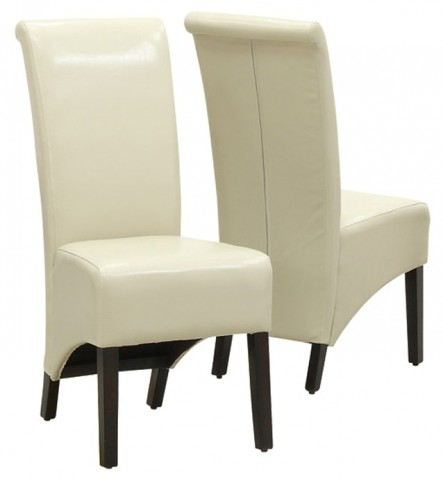 1777TP Taupe Side Chair Set of 2