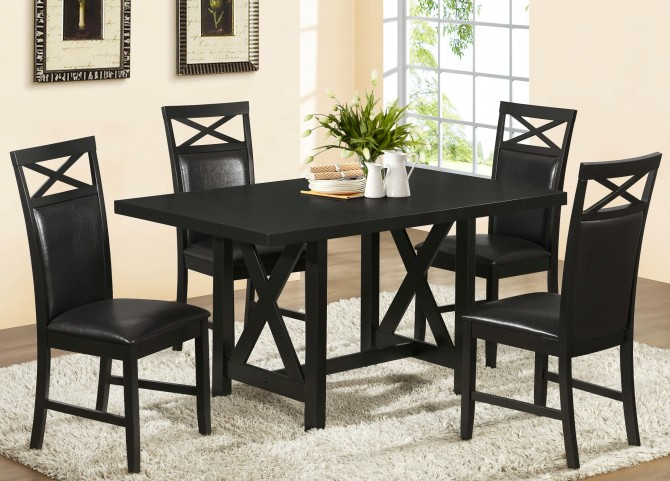 1800 Cappuccino Ash Dining Room Set