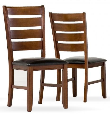 1831 Dark Oak Side Chair Set of 2