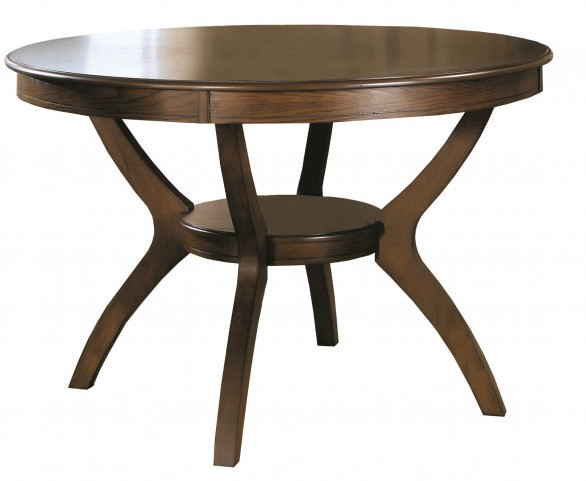 1890 Dark Walnut Dining Table