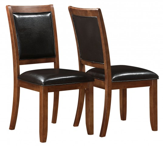 1891 Dark Walnut Side Chair Set of 2