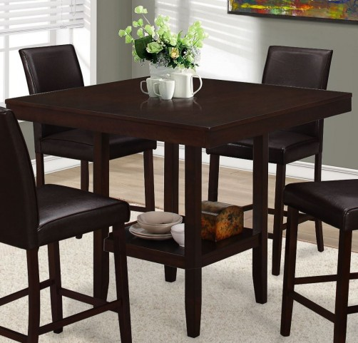 Cappuccino Counter Height Dining Table