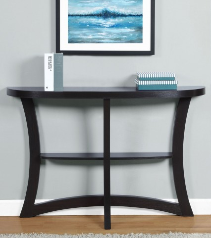 "Cappuccino 47"" Hall Accent Table"