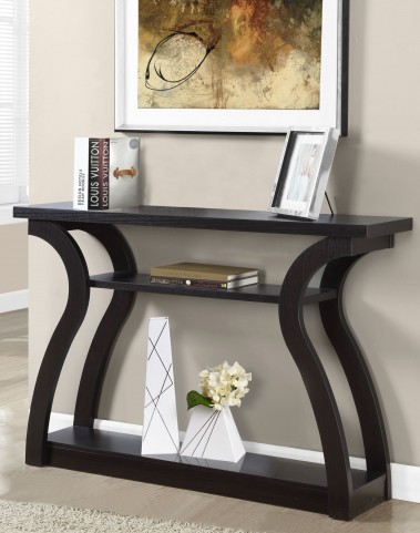"Cappuccino 47""Accent Table"