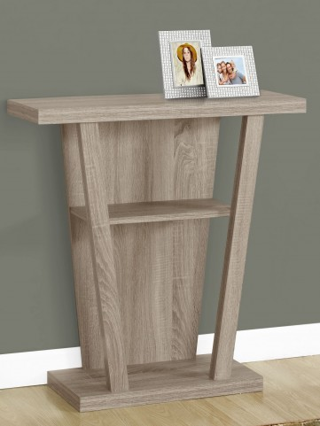 "Dark Taupe 32""Accent Table"