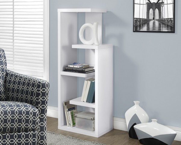 """White 48"""" Accent Display Unit"""