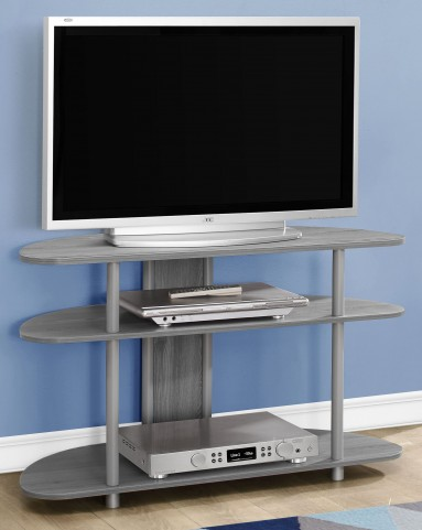 "Gray Accent 38"" TV Stand"
