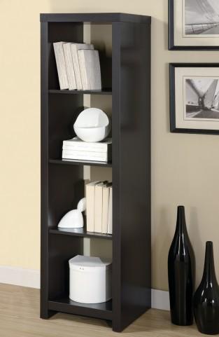 """2524 Cappuccino 63"""" Room Divider Bookcase"""