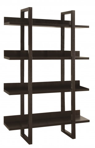 "2549 Cappuccino 71"" Open Concept Display Etagere"