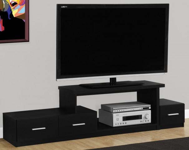 "Black 72"" TV Stand"