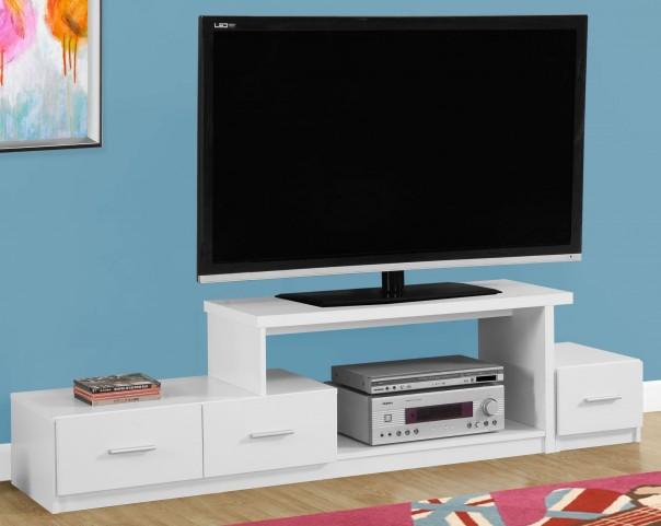 """White 72"""" TV Stand"""