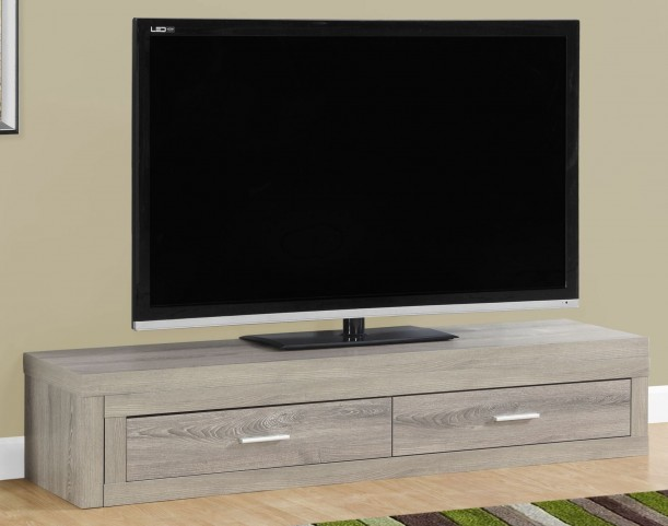 Dark Taupe Extendable TV Stand