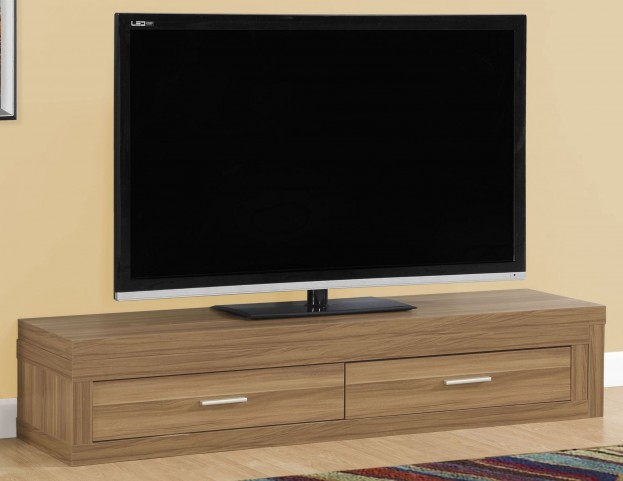 Walnut Extendable TV Stand