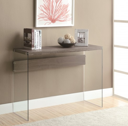3055 Dark Taupe Sofa Table