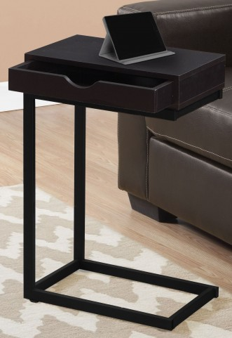 3069 Cappuccino Drawer Accent Table