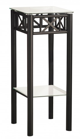 3078 Black Metal Plant Stand