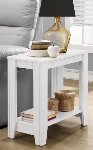 3117 White Accent Table